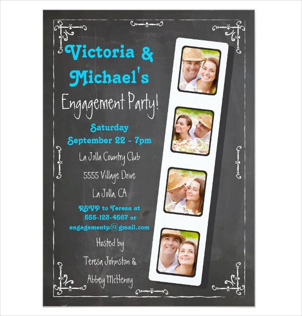 chalkboard-engagement-dinner-invitation