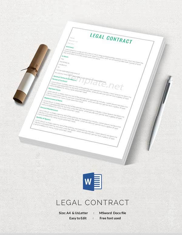 Legal Contract Template