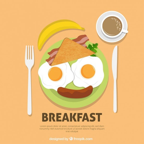 free printable business breakfast invitation