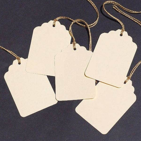 Blank Wedding Gift Tag