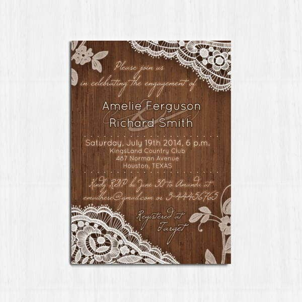 rustic-lace-engagement-invitation