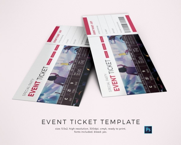 Special Event Ticket