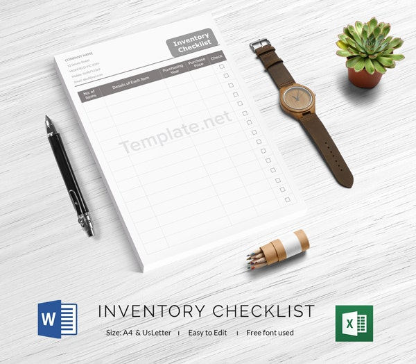 Inventor Check List Template