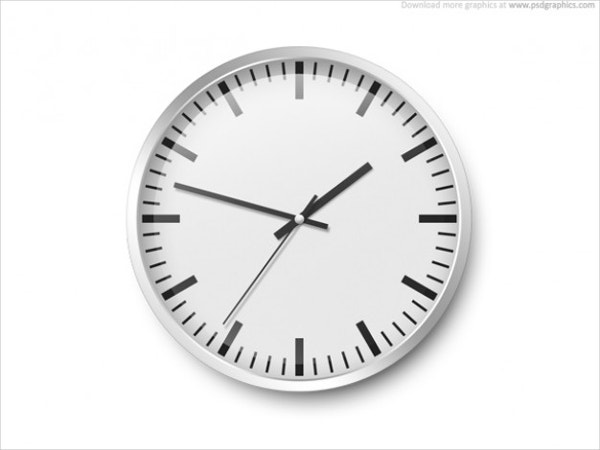 wall-clock-psd-template