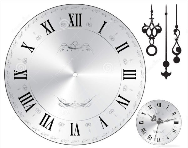 Wall Clock Templates  Psd Vector Eps Ai Illustrator Download