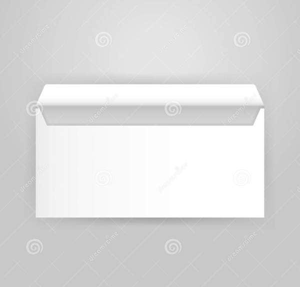Business Open Envelope Mockup