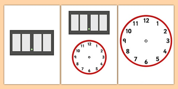 6 Digital Clock Templates Psd Vector Eps Free