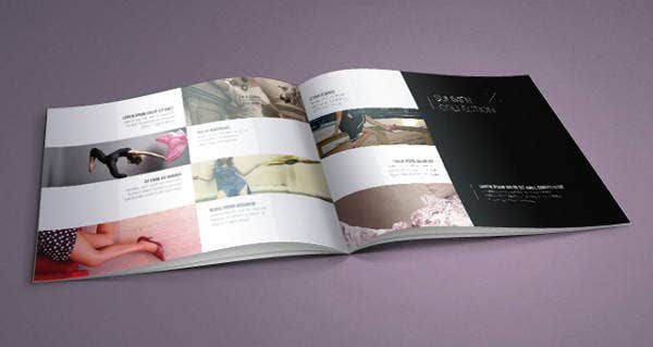 fashion sales catalog template