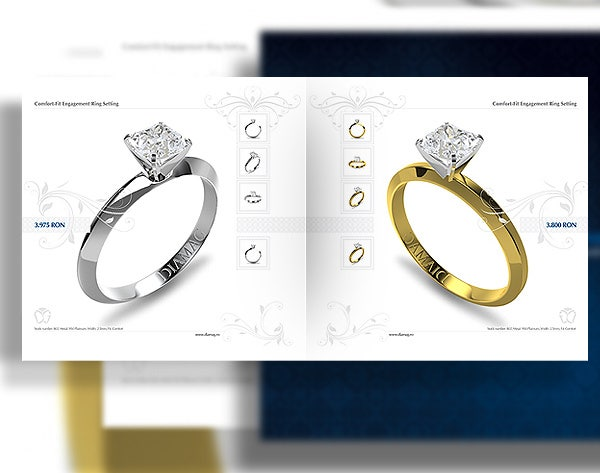 modern jewelry catalog template