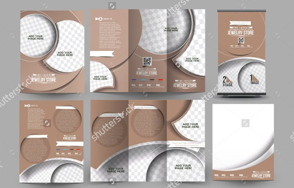 Jewelry Catalog Templates  Free Psd Illustrator Eps