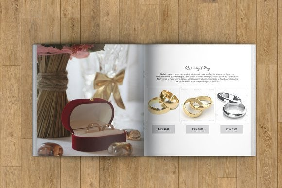 Fashion Jewelry Catalog Template