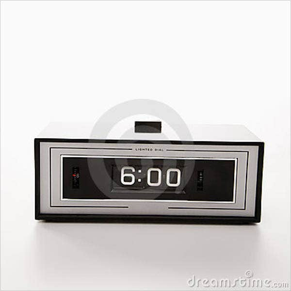 digital-and-analog-clock-template