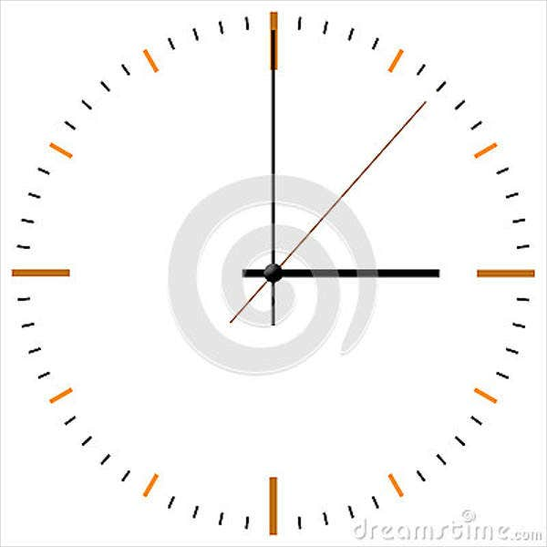 analog-clock-face-template