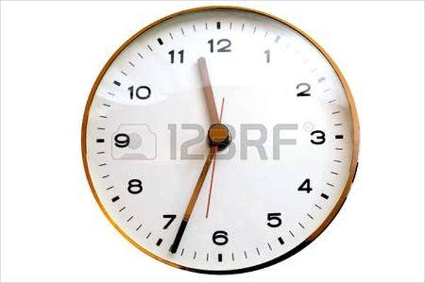 8  analog clock templates