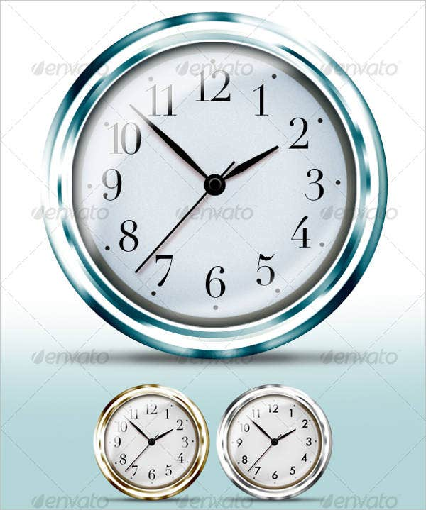 flash-analog-clock-template