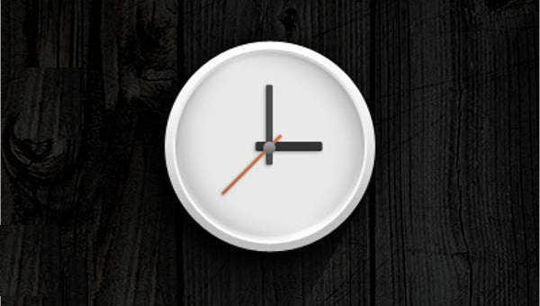 8+ Analog Clock Templates - PSD, Vector EPS, AI Illustrator Download