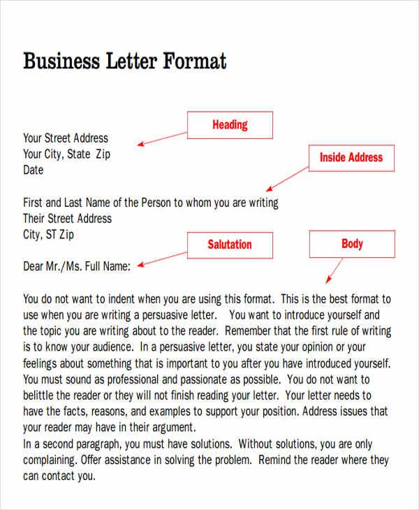 office business letterhead template