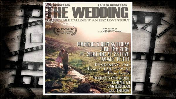 9weddingposters