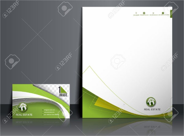 real-estate-company-agent-letterhead-template