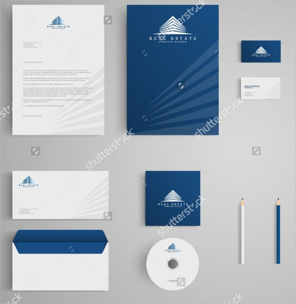 corporate-real-estate-company-letterhead-design