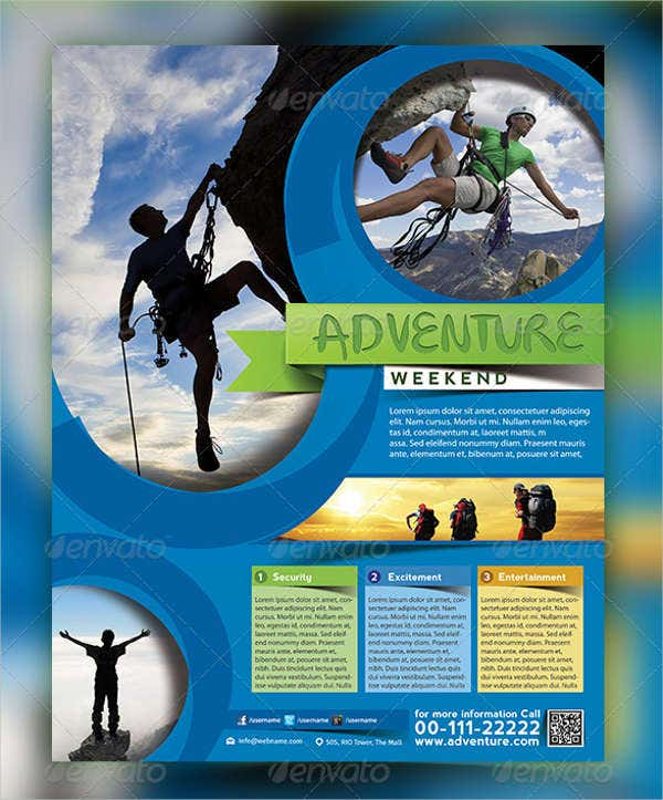 Adventure Travel Catalog Template