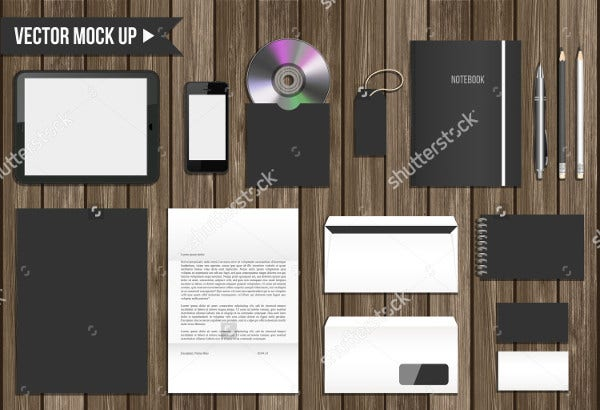 Corporate Identity Envelope Mockup