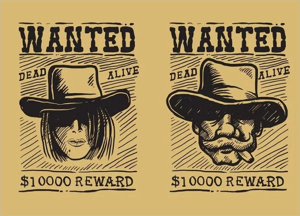 9 Printable Wanted Posters Free PSD Vector EPS Format – Free Printable Wanted Poster