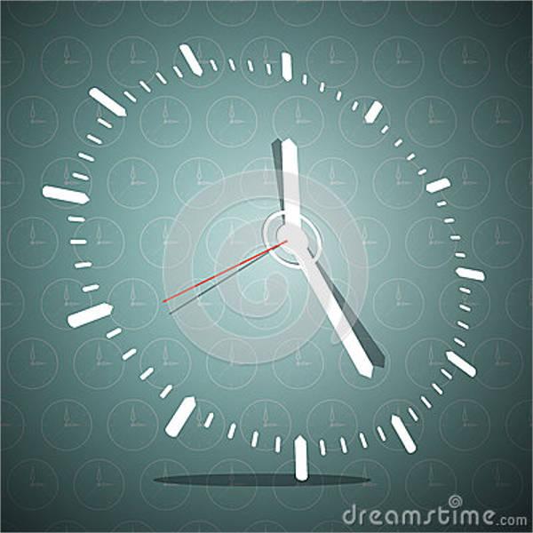 3d-blank-clock-template
