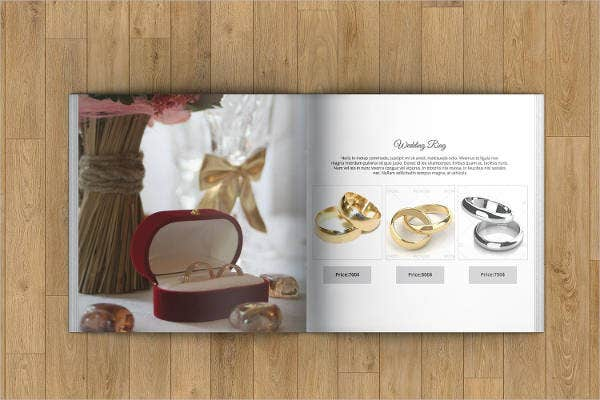 Jewelry Sales Catalog Template