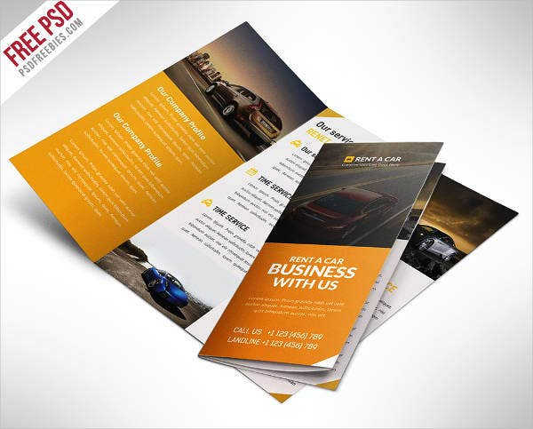 Car Sales Catalog Template