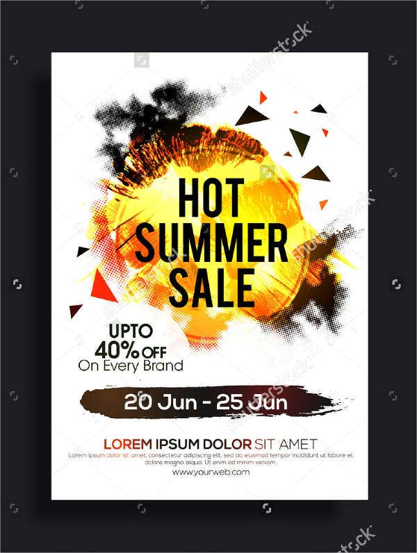 Summer Sales Catalog Template
