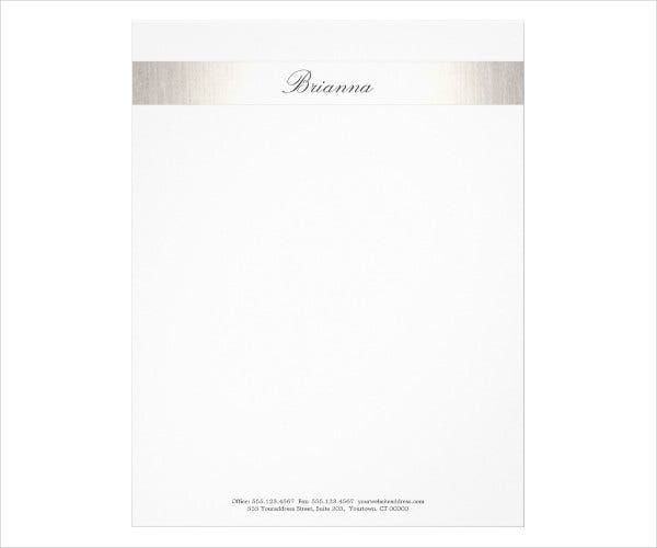 Professional Business Consulting Letterhead Template