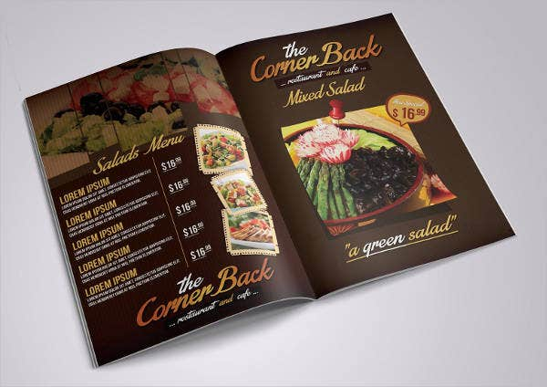 Restaurant Supply Catalog Template