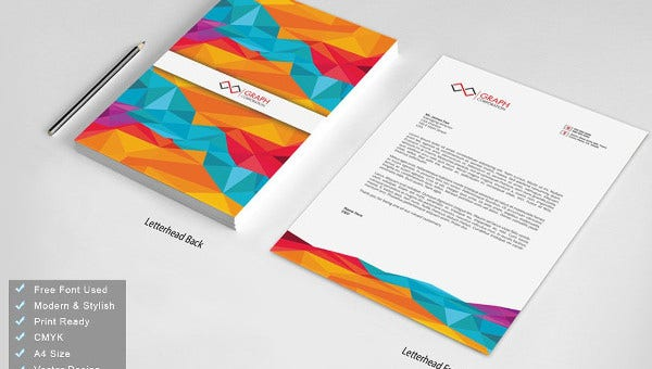 professional business letterhead templates
