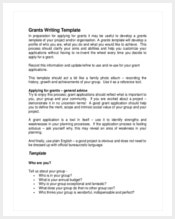 grants-writing-template
