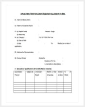 application-form-for-junior-research-felloship-word-document-free-download