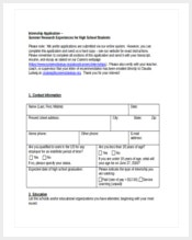 high-school-internshipnapplication-form-free-download-word-document