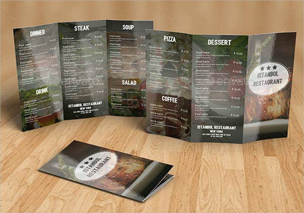 restaurant equipment catalog template
