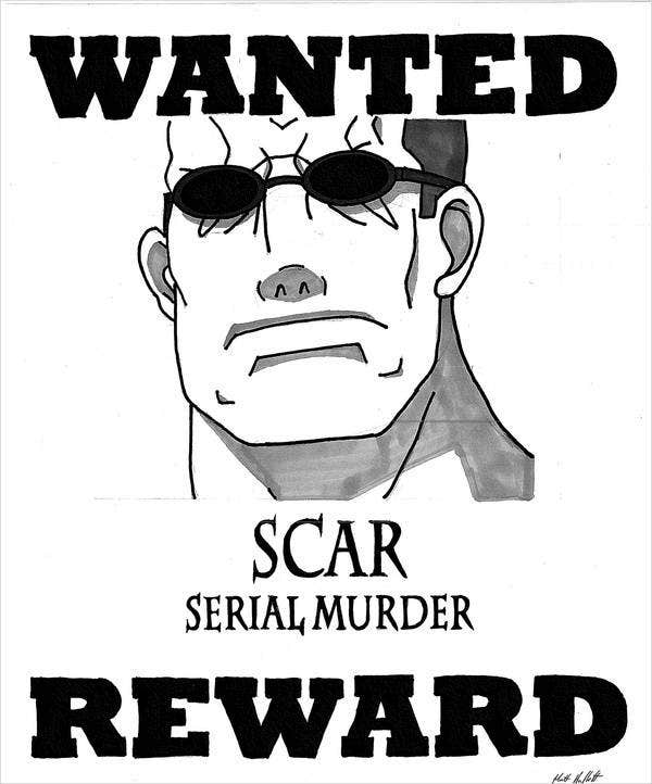 character-description-wanted-poster