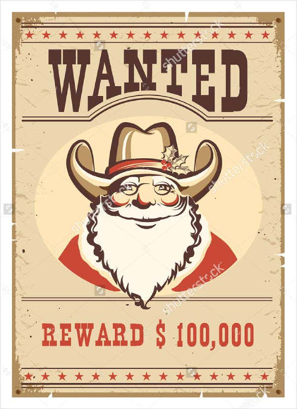 cartoon-character-wanted-poster