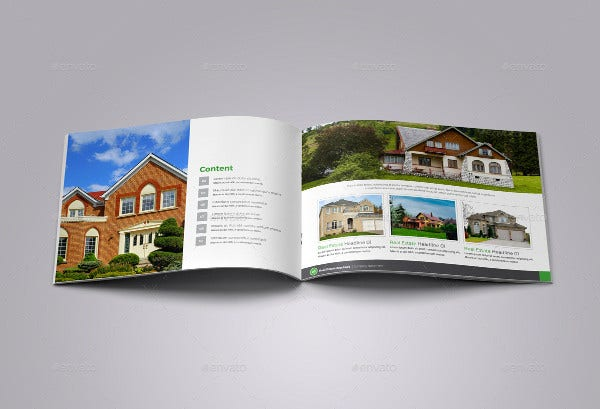 Property Real Estate Catalog Template