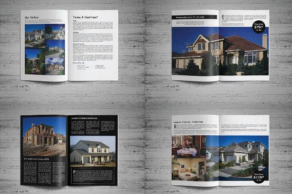 Real Estate Product Catalog Template