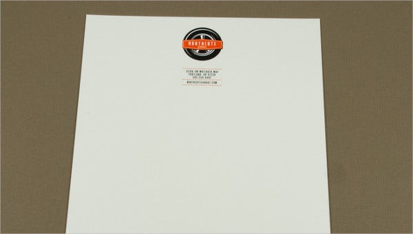 automotive business letterhead templates