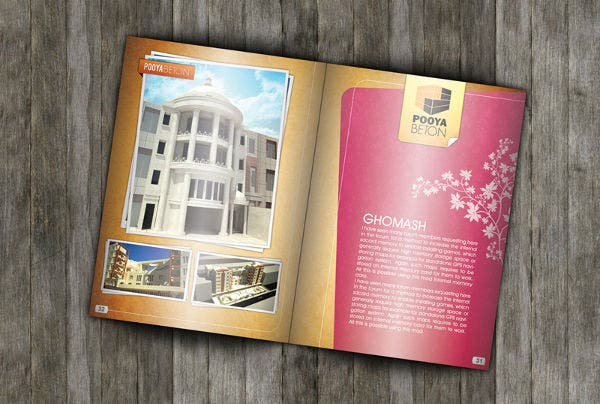 In-design Real Estate Catalog Template