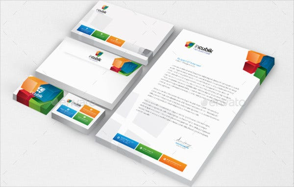 small business resources letterhead template