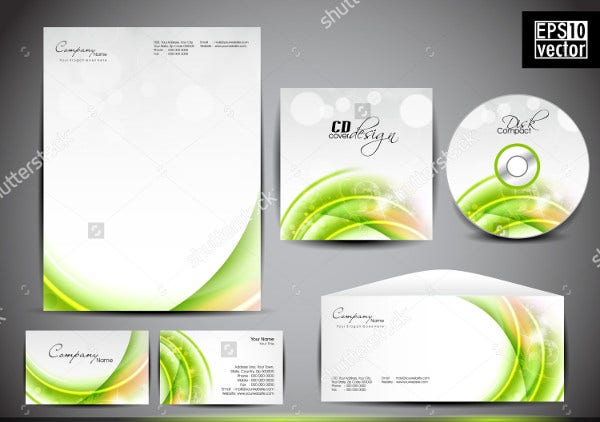 small business cover letterhead template