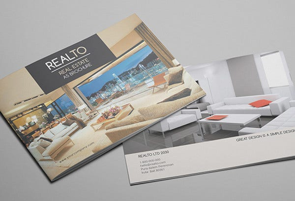 Real Estate Marketing Catalog Template