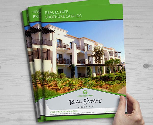 Real Estate Software Catalog Template