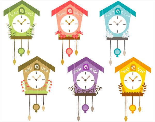 Paper Cuckoo Clock Template