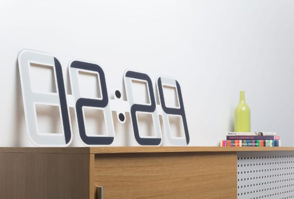 Paper Digital Clock Template